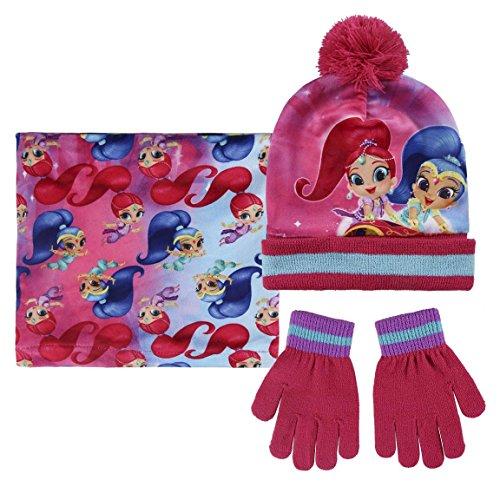 Cerdá 2200002547 Mütze, Schal & Handschuh-Set, unisex-child, Pink (Rosa 001), One size (Herstellergröße: Única)