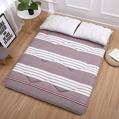 MWPO Seasons Foldable Not-slip Futon Mattress, Portable Floor Tatami Sleeping Mattress For Home Dormitory Outdoor-d 100x200cm(39x79inch)
