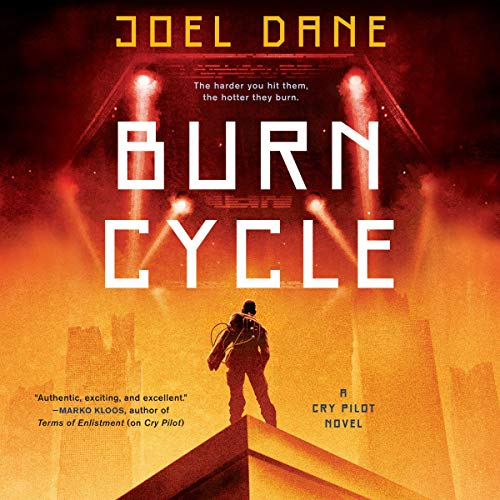 Burn Cycle audiobook cover art