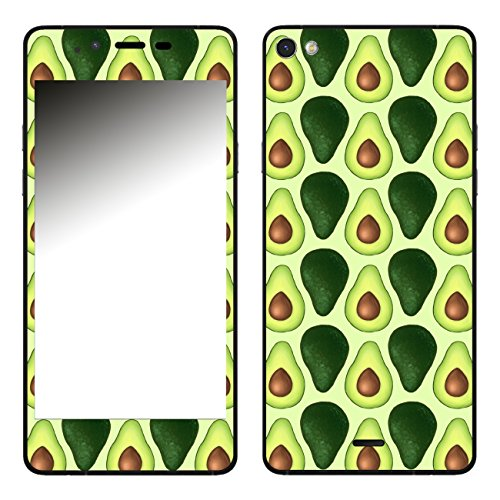 Disagu SF-106283_1119 Design Folie für Wiko Highway Pure - Motiv Avocados Lined grün