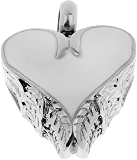 MagiDeal 50pcs Vintage Tibet Silver I Love Jesus Heart Charms Pendant Jewelry Making