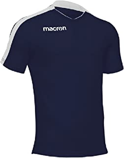 10ed4efc9396e0 T-Shirt Sportiva Traspirante Maglietta da Calcio Calcetto Macron Earth Shirt