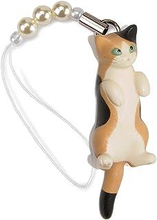ペットラバーズ 猫どん LadyCat vol.7 三毛 ビーズ ストラップ N-2701