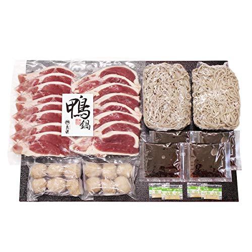 京の糸源 京の鴨鍋 KF-IN 鴨鍋セット2人前×2 鴨鍋 惣菜 冷凍 鴨鍋セット 合鴨つくね そば