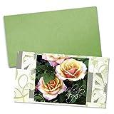 25 tarjetas de regalo de alta calidad + 25 sobres con motivos para jardinería horticultura portada afinada con brillo intenso. BL1228E