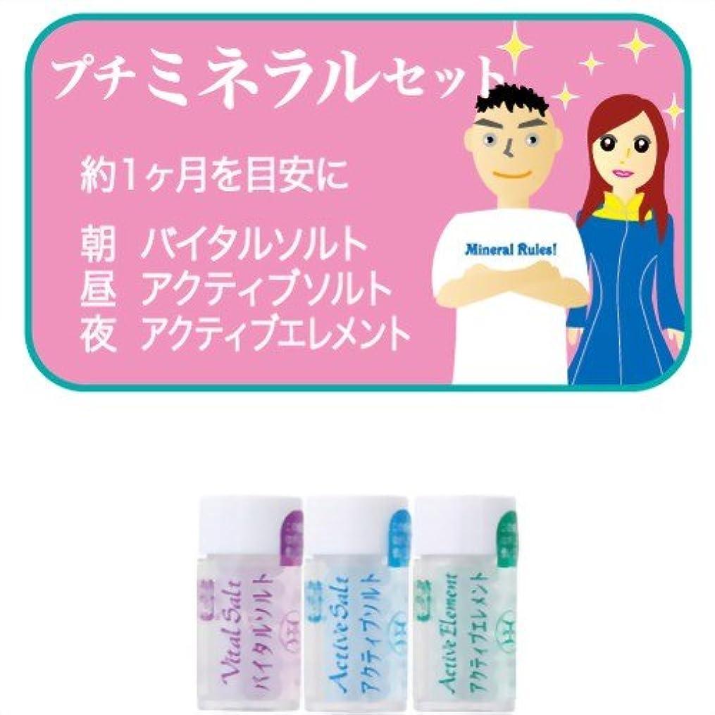 平日忌避剤外向きホメオパシージャパンレメディー プチミネラルセット