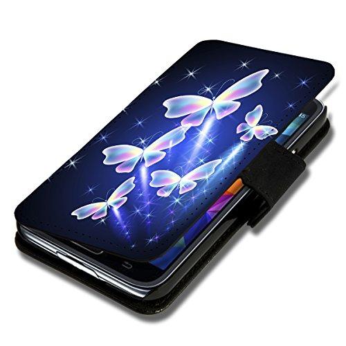 wicostar Book Style Flip Handy Tasche Hülle Schutz Hülle Schale Motiv Foto Etui für LG Bello 2 / Bello II - Flip X12 Design9