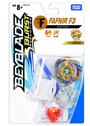 Takaratomy Plastic Beyblade Burst Evolution Drain Fafnir, Multicolor
