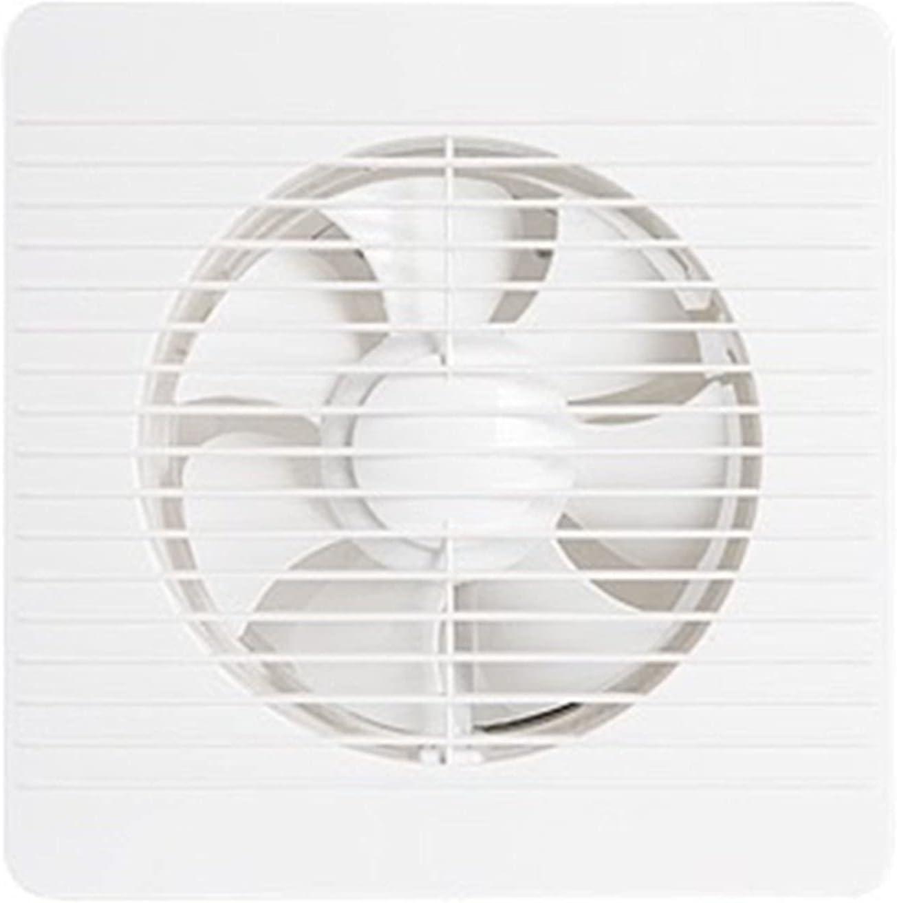 Middle Ventilador montado en la Pared Extractor de baño de Cocina Extractor de Aire, Ventilador de ventilación Ultra silencioso, Ventilador Industrial Comercial de Alta Potencia