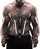 筋トレ アームバー エキスパンダー 大胸筋トレーニング器具 アームレスリング器具 筋トレグッズ 油圧式 安全 大胸筋 腹筋 上腕二頭筋 広背筋 筋トレ10~200kg調整可能