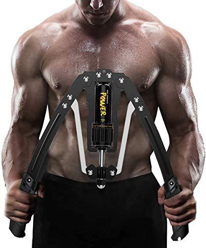2021最新版 筋トレ アームバー エキスパンダー 大胸筋トレーニング器具 アームレスリング器具 筋トレグッズ 油圧式 安全 大胸筋 腹筋 上腕二頭筋 広背筋 筋トレ10~200kg調整可能