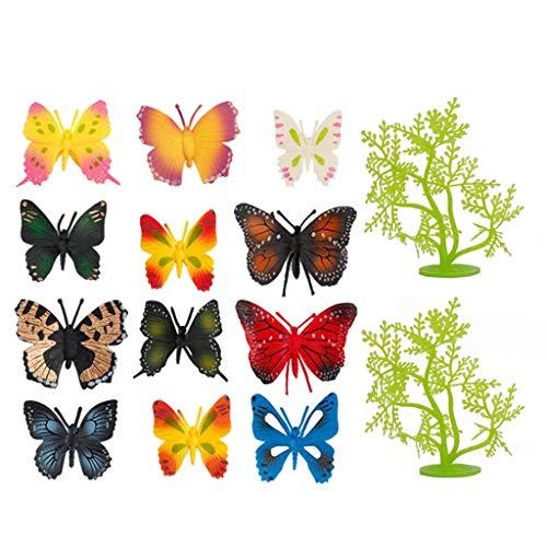 N/A/a Estatica Multicolor Realista Animal Divertido Modelo de Insectos para niños 5-7 años de Fiesta Educativa de Regalo para niños - Type4
