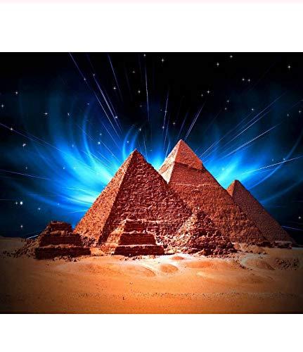 Tdybk Rompecabezas Juguete Educativo 1000 Piezas Puzzle Puzzle Adulto 75 * 50 cm Pirámides de Egipto Rompecabezas de niños para Regalo Creativo Decoración del hogar