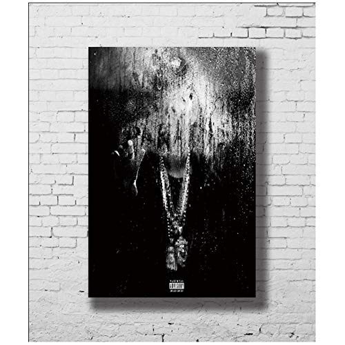suuyar Big Sean Dark Sky Paradise Canvas Art Posters and Prints Poster Canvas Painting Home Decor Print on canvas-60x90cm No Frame