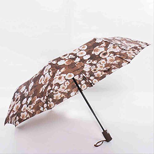 QNBD Kreative Regenschirm Regen Frauen Männer Regenmantel und Durable Starke Kinder Regenschirme Rainy Sunny GroßhandelKaffee