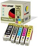 5 XL TONER EXPERTE® 26 26XL Druckerpatronen kompatibel für Epson Expression Premium XP-620 XP-615 XP-600 XP-700 XP-800 XP-820 XP-720 XP-520 XP-605 XP-625 XP-510 XP-710 XP-610 XP-810
