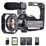 4K Video Camera Camcorder ORDRO HDR-AC5 Vlog...