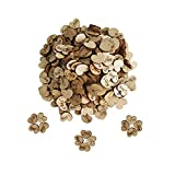 Inn Diary 300pcs Rustic Wooden Hearts Love Wood Table Confetti for Wedding or Party Table Scatter Decor