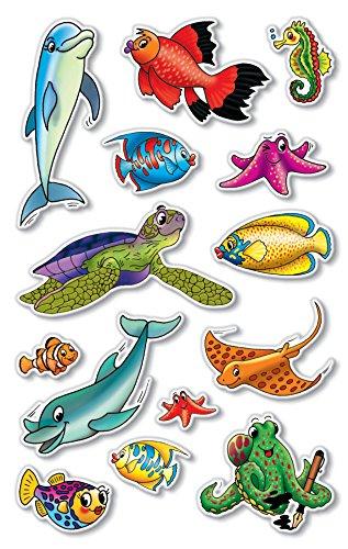 AVERY Zweckform 55712 Deko Sticker Meerestiere 42 Aufkleber