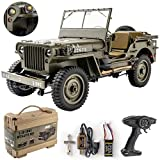 RocHobby RC Car 1/12 1941 MB Scaler Willys...