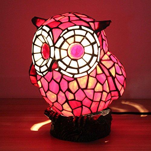Lovely Creative Lampe de table rouge Hibber Lampe pour enfants Lampe de nuit