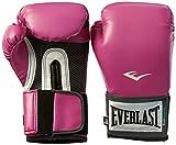 Everlast Women's Pro Style Training Gloves (Pink, 12 oz.)