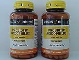 Mason Natural Probiotic Acidophilus with Pectin Capsules - 100 ct, Pack of 2
