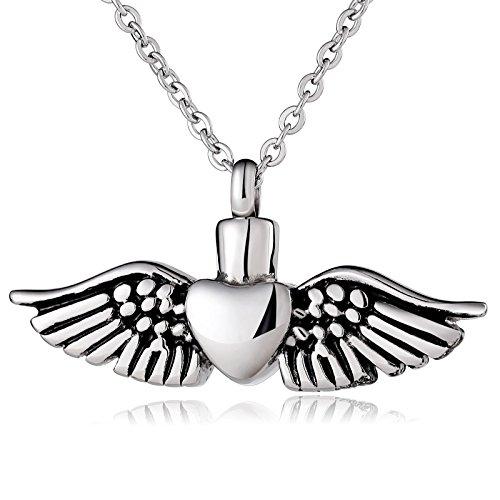 Beydodo Colgante Collar Plata Cremación Memorial Collar Collar de Cen
