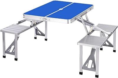 Mesa de picnic Campart Travel TA-0820 - Sistema de seguridad ...