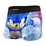 Sonic The Hedgehog Men's Boxer Briefs Underwear for Men Boys...
