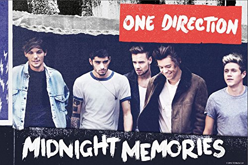 One Direction - Midnight Memories - Musik Pop Poster Plakat Druck - Größe 91,5x61 cm