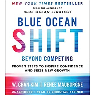 Blue Ocean Shift     Beyond Competing - Proven Steps to Inspire Confidence and Seize New Growth              著者:                                                                                                                                 Renee Mauborgne,                                                                                        W. Chan Kim                               ナレーター:                                                                                                                                 Christian Steiner                      再生時間: 9 時間  48 分     1件のカスタマーレビュー     総合評価 5.0