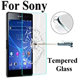 Protector de Pantalla para,9H HD Hardness Tempered Glass For Sony Xperia Z3 Compact Z Z1 Z2 Z4 Z5 M2 M4 M5 Premium Clear Screen Protector Glass On M4 Aqua for Sony Xperia Z3 Tempered Glass