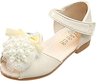 Toddler Sandals FAPIZI Summer Infant Kids Baby Girls Rabbit Heart Hollow Mary Jane Princess Shoes