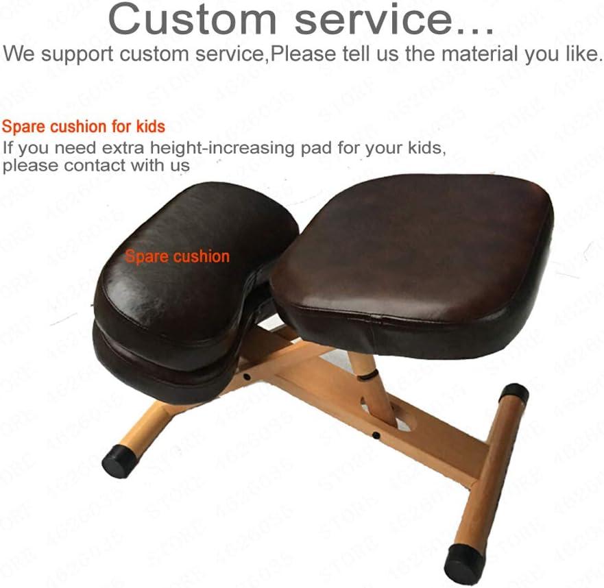 HCCX Ergonomique Genoux Chaise réglable en Hauteur Ergonomique Genoux, Bureau Chaises orthopédique Posture A2