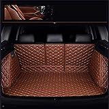 QQDS Funda De Maletero De Coche Protector Maletero para BMW 7 Serie E38 E65 F01 F02 F03 F04 G11 G12 Cuero Maleteros Impermeable Alfombrillas Forro Interior Accesorios