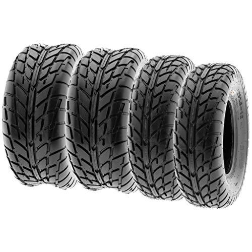 SunF 25x8-12 25x10-12 ATV UTV Tires 6 PR Tubeless A021 [Bundle]