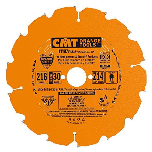 CMT Orange Tools 236,216,14 m scie circulaire en diamant mat. abrasif 216 x 30 x 14 2,1 z.