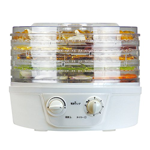 【回転式フードドライヤー 食品乾燥機 12時間タイマー 温度設定】フードドライヤー 回転式(B564)