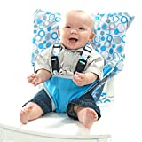 MY LITTLE SEAT Travel High Chair - Hula Loops - The Original Portable