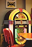 Vintage Jukebox Journal: 150 page lined notebook/diary