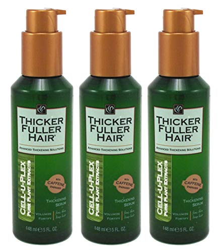Thicker Fuller Hair Instantly Thick Serum 5oz. Cell-U-Plex (3 Pack)