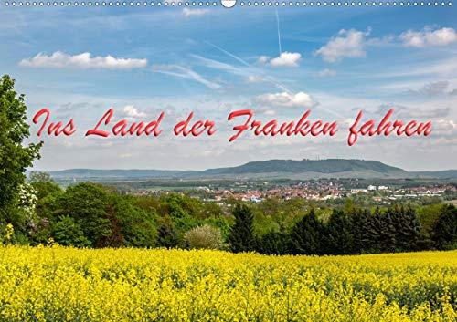 Ins Land der Franken fahren (Wandkalender 2021 DIN A2 quer)