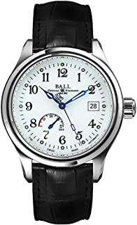 Ball Trainmaster Power Reserve Men's Watch NM1056D-L1J-WH