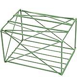 Caja de almacenamiento N / A para el hogar, dormitorio, estilo simple, multifunción, de hierro forjado, para coche, sala de estar, cuarto de baño, dormitorio (color: verde)