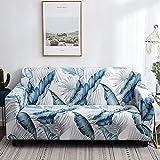 Fundas de sofá elásticas a cuadros para sala de estar, protector de muebles antideslizante, calidad duradera, resistente a las arrugas A22 de 3 plazas