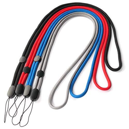 trage.band® Robustes verstellbares langes Trageband/Umhängeband, 4 Klassische Farben