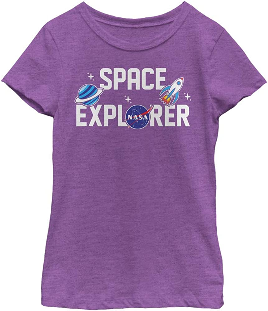 Fifth Sun Girl's NASA Space Explorer T-Shirt