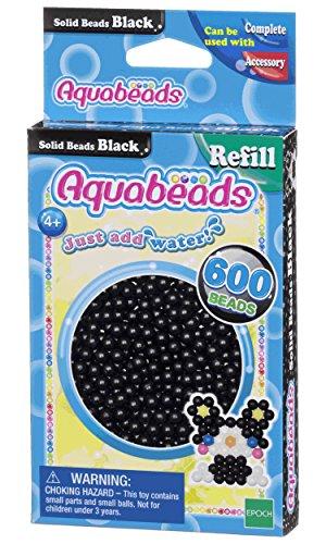 Aquabeads - 32658 - Recharge Perles - Noir
