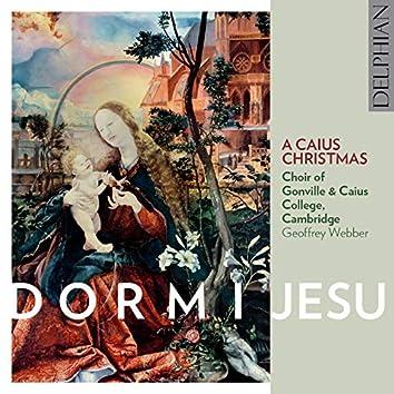 Dormi Jesu: A Caius Christmas